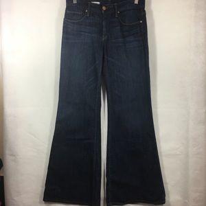 Gap Dark Dirty High Rise Trouser Jeans